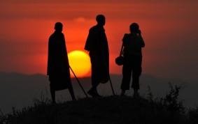Masai guides